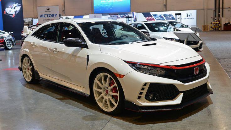 Honda showcases Civic Type R Civic Si Fit performance parts