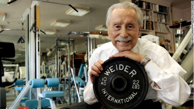 Fitness Pioneer Joe Weider created the Mr. Olympia contest and brought Arnold Schwarzenegger to the United States.