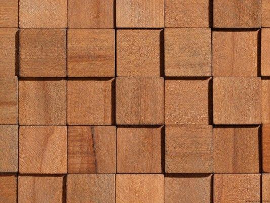 Panel dekoracyjny Wood Collection CUBE