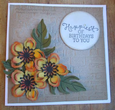 Twinks Stamping   Stampin' Up! Demonstrator: Oh my .......
