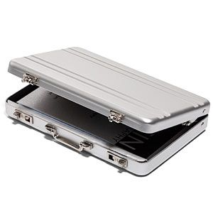 ThinkGeek :: Mini Briefcase Business Card Case