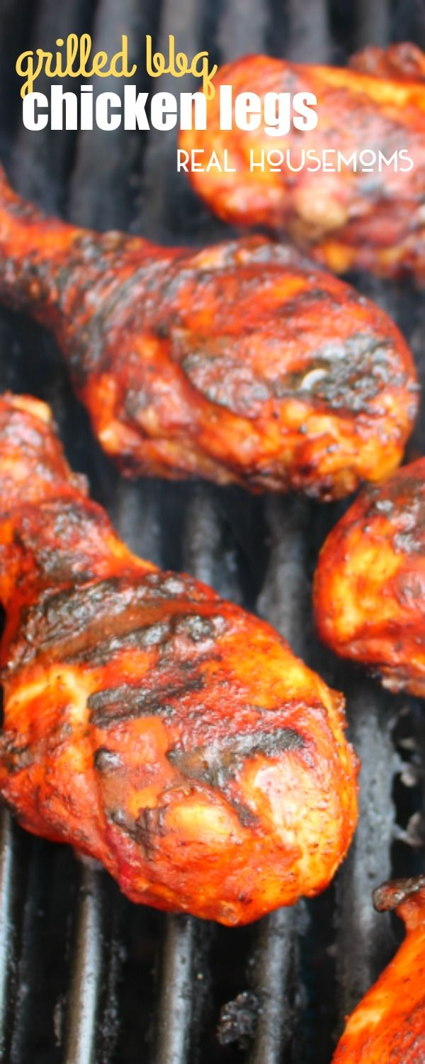 Perfect for your cookouts, barbecues, and backyard parties, these easy and flavorful GRILLED BBQ CHICKEN LEGS will be an instant favorite you'll come back to all summer long!