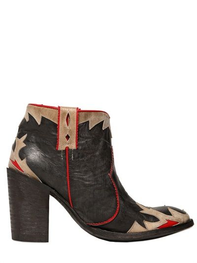 MEXICANA - cowboy ankle boots