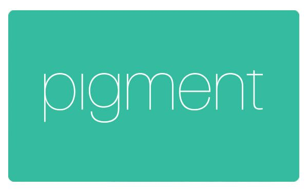 Gift card to Pigment