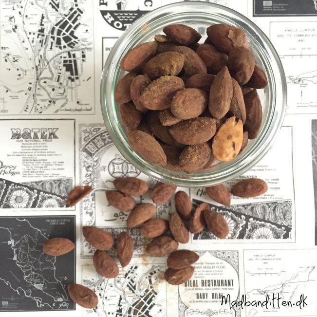 How to make salt liquorice almonds by madbanditten.dk