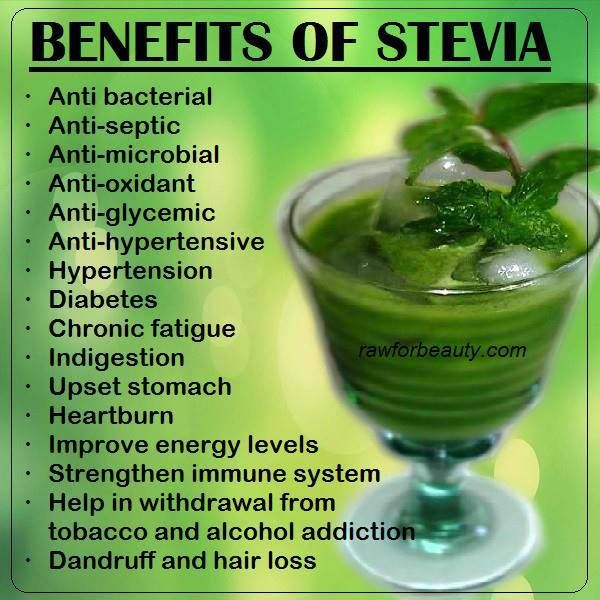 health benefits of stevia...you'll learn to like it if you really care about your health....if not, then stop complaining.