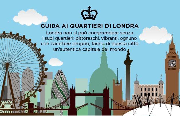 Scopri i quartieri di Londra nella nostra infografica!