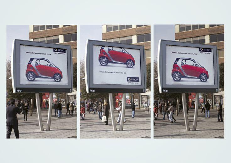 Publicidad exterior |  Título: 2 en 1 |  Agencia/Estudio: Contrapunto BBDO |  Cliente: Mercedes Benz/ Smart |  Núm: 240