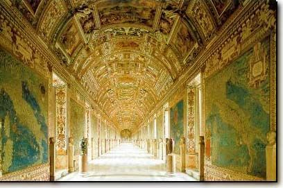 The Gallery of Maps - Vatican Museums