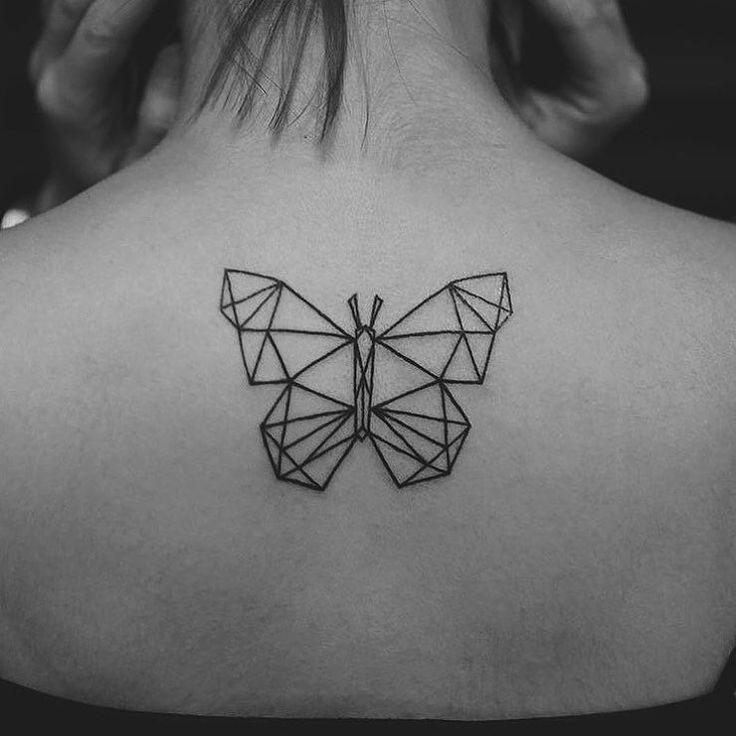 mariposa geometrico