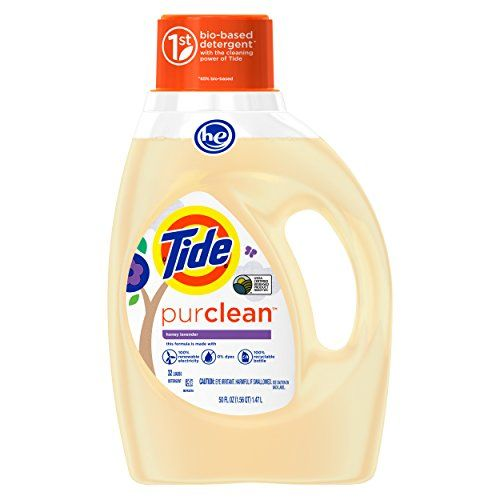Grocery-Tide PurClean Liquid Laundry Detergent for Regular and HE Washers, Honey… #GOTITFREE