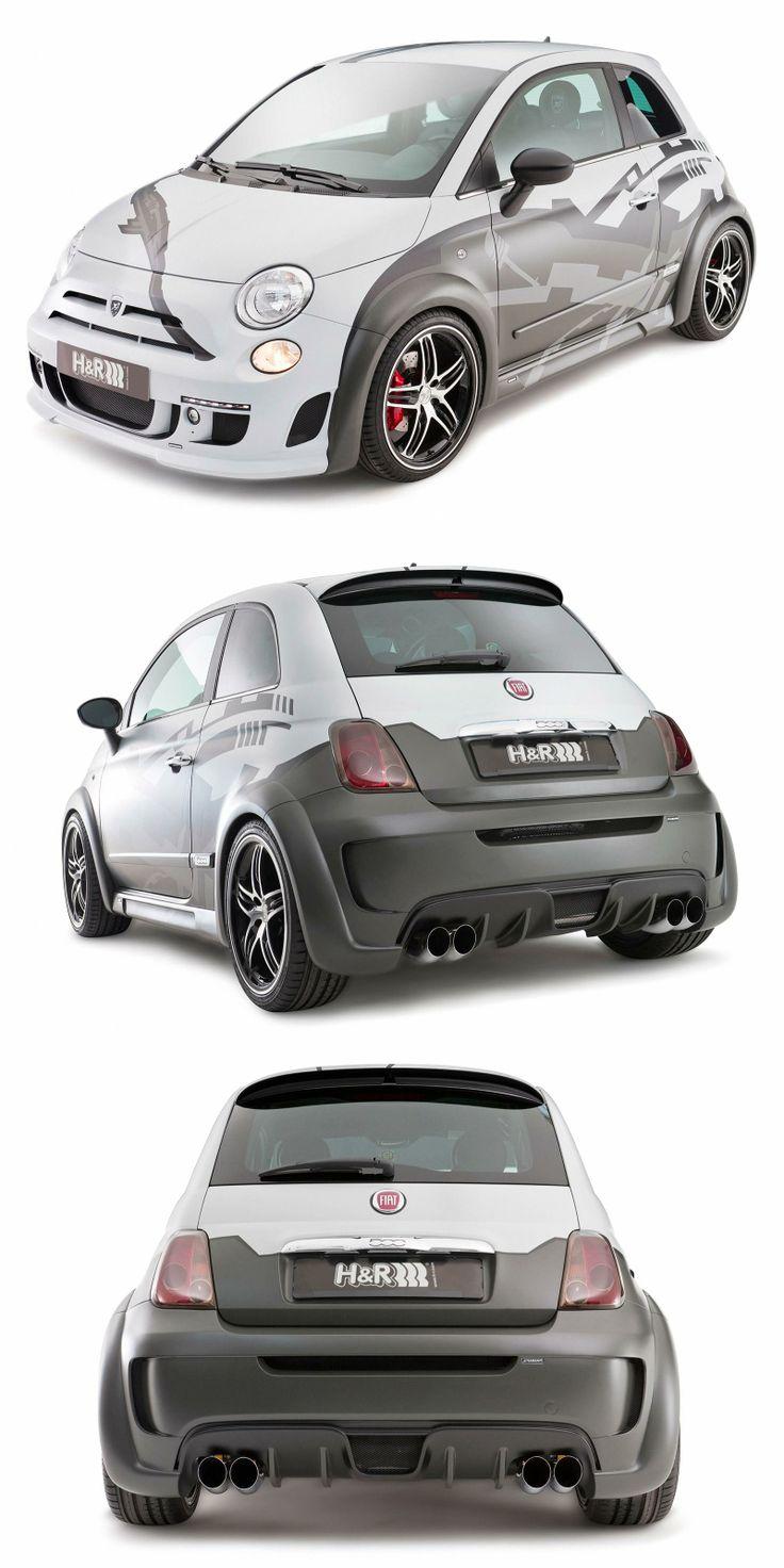 Fiat 500 c hamann
