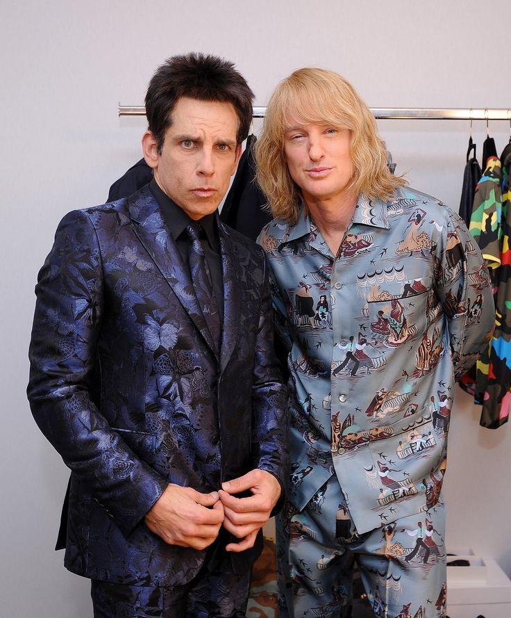Exclusive! See Zoolander's Ben Stiller and Owen Wilson Prep for the Valentino…