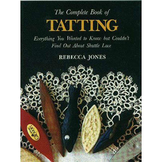 Lacis Publishing 'The Complete Book of Tatting', Black