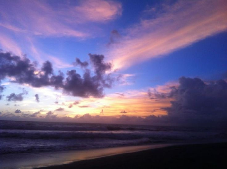 One finest day when I watched this beautiful sky in Bali