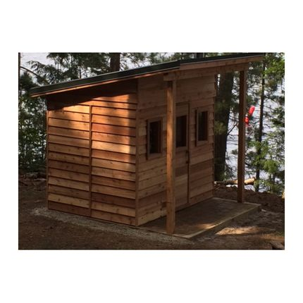 X Outdoor Sauna Kit  Post  Beam Porch  Heater  Accessories