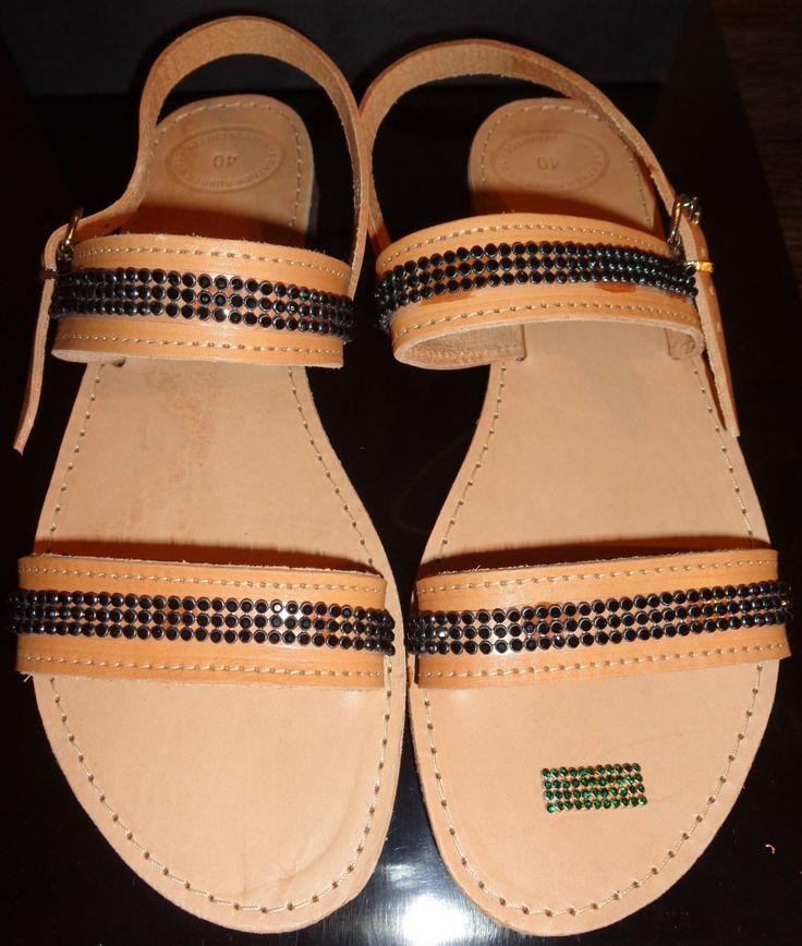 Handmade Genuine Leather Ladies Sandals by ScreationsGR on Etsy https://www.etsy.com/listing/239902173/handmade-genuine-leather-ladies-sandals
