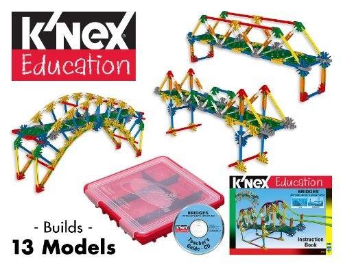 K'Nex Intro to Structures: Bridges -- Build 13 different bridges using this fun set!