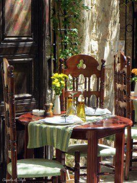 restaurant in Rethymno, Crete