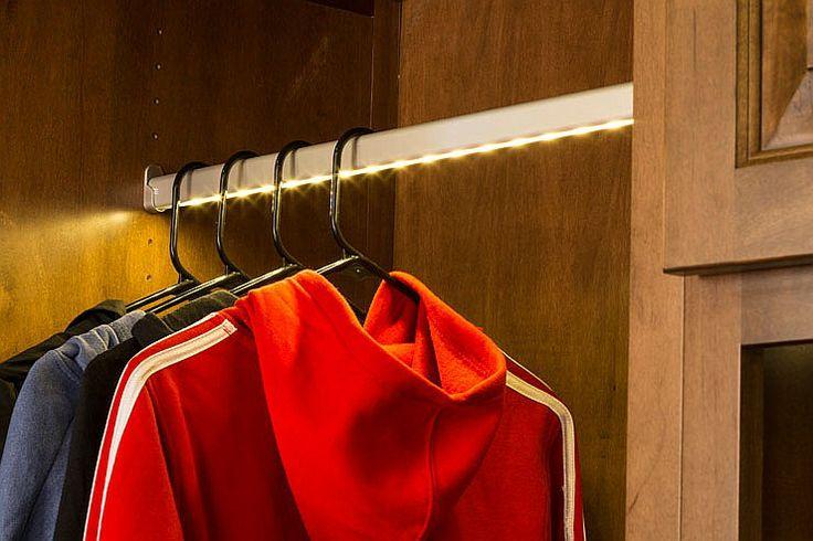 HÄFELE Lighted closet rod. | What's new? | Pinterest