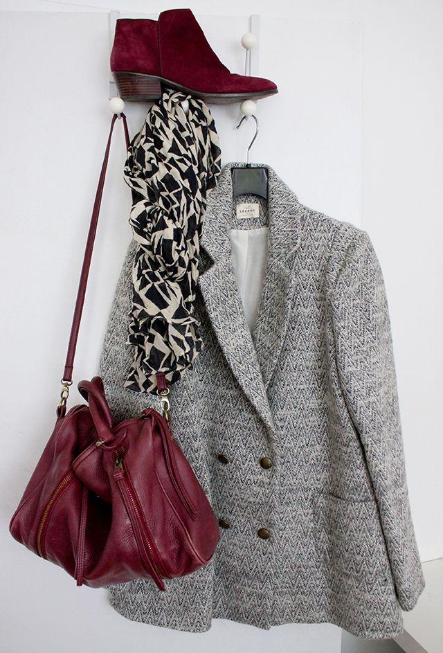 LE manteau de l'hiver Sézane !