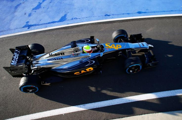 """Yes!!! """"First ever shot of the McLaren Honda. Start of a new era!"""""""