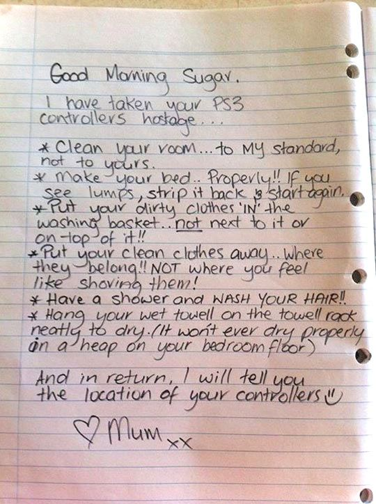 Bravo!! This mom is a parenting expert.