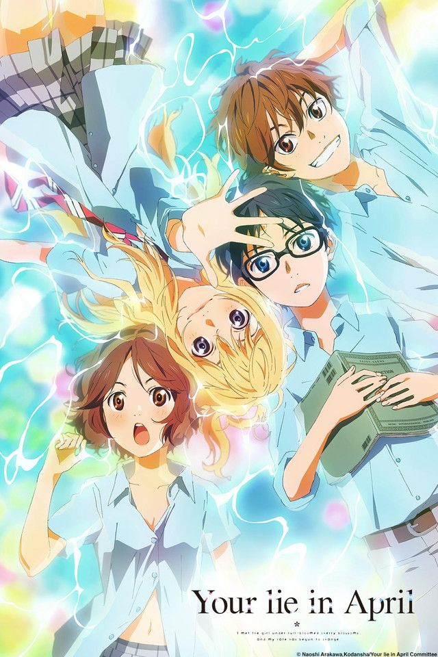 Your Lie in April is a deep animation about pulling down the high wall in our heart. i just love it so much!!