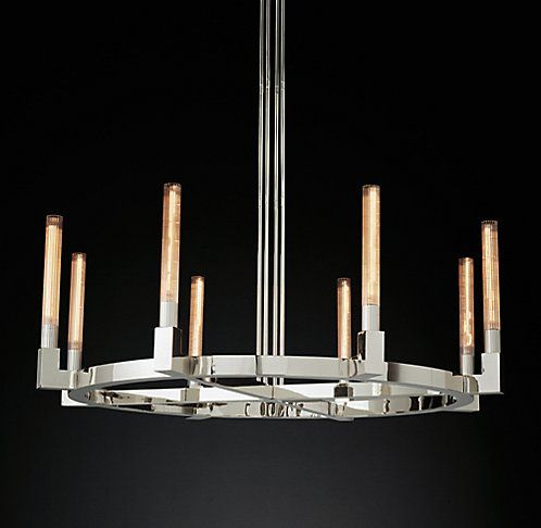 Cannele Round Chandelier One Of My Personal Favorites. Since Your Decor Is  Minimalist, A Great Statement Piece Would Work.