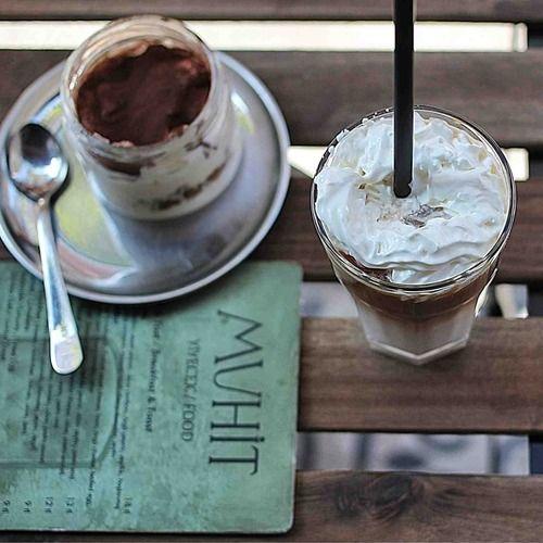 Karaköy - Muhit, #coffeeoftheday w/ a yummy tiramisu