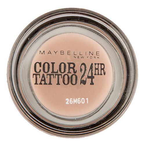 Тени для век MAYBELLINE COLOR TATTOO 24 HR кремообразные матовые тон 91 (розовый зефир)