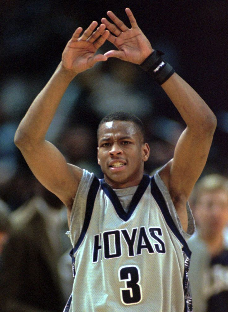 Hoya pride : Classic photos of Allen Iverson