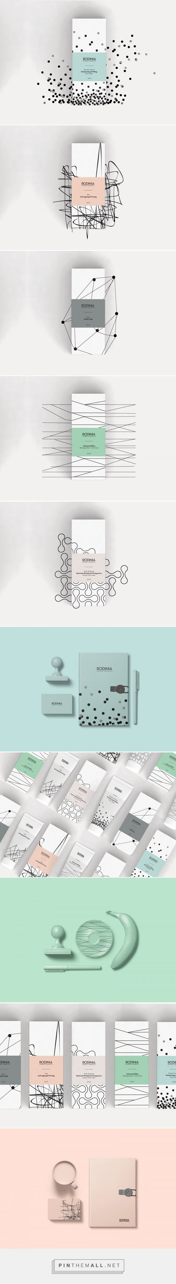 Rodinia - Skincare Line - Packaging of the World - Creative Package Design Gallery - http://www.packagingoftheworld.com/2017/11/rodinia-skincare-line.html