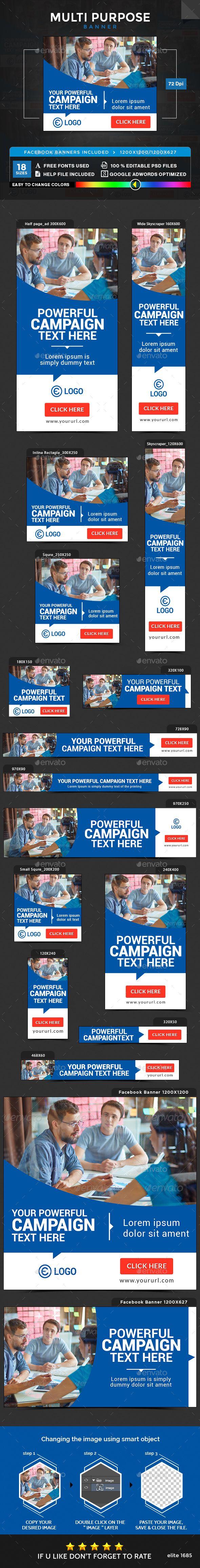 Multipurpose Banners Template PSD. Download here: https://graphicriver.net/item/multipurpose-banners/17262686?ref=ksioks