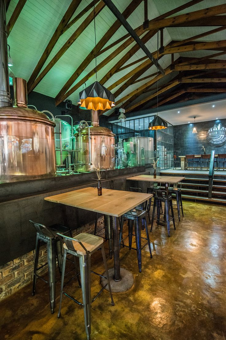 Wagon Trail on Anura Vineyards designed by Inhouse Brand Architects http://inhouse.ws/wagon-trail/ #inhouse #timber #wood #brewery #honest #warm #craftbeer #CapeTown