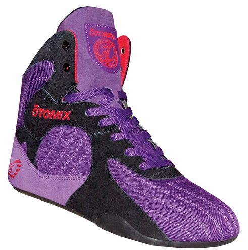 Limited Edition Otomix Purple Bruiser Stingray Escape  MMA Shoe  at www.otomix.com This is the hottest seller in the Otomix line. Great for MMA, Wrestling or Bodybuilding.