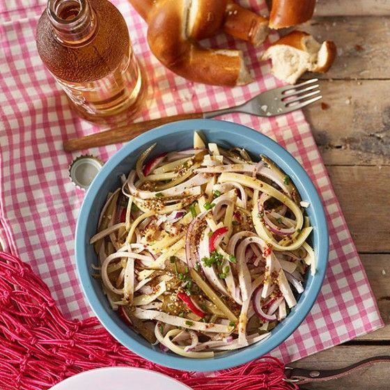 ESSEN & TRINKEN - Schweizer Wurstsalat Rezept