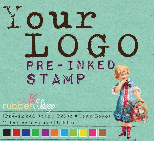 LOGO Stamp (Custom Self Inking Stamp • Pre-inked Stamp) Logo or Design file provided by you (P2602) by myrubberstamp on Etsy https://www.etsy.com/listing/105828774/logo-stamp-custom-self-inking-stamp-pre