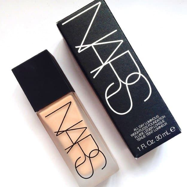 Nars All Day Luminous Weightless Foundation | Best High-End Foundation List