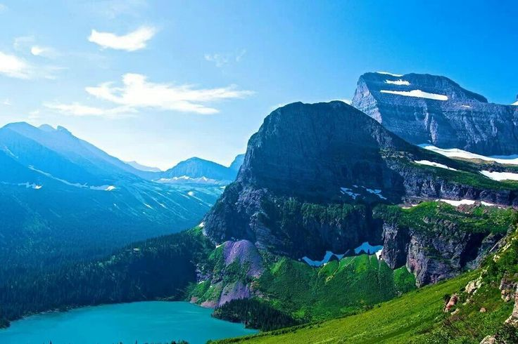 Glacier National Park, Montana Went here on a motorcycle trip with my husband. If you are scared of heights stay at the bottom.