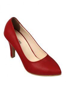 Jual sepatu wanita murah dan berkualitas: CLAYMORE Sepatu High Heels BB-701 Red