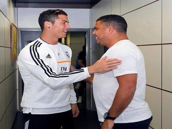 Brazil football legend Ronaldo da Lima has snubbed Real Madrid/Portugal star Cristiano Ronaldo from his list of all time XI best players preferring to include Lionel Messi instead. Ronaldo included a