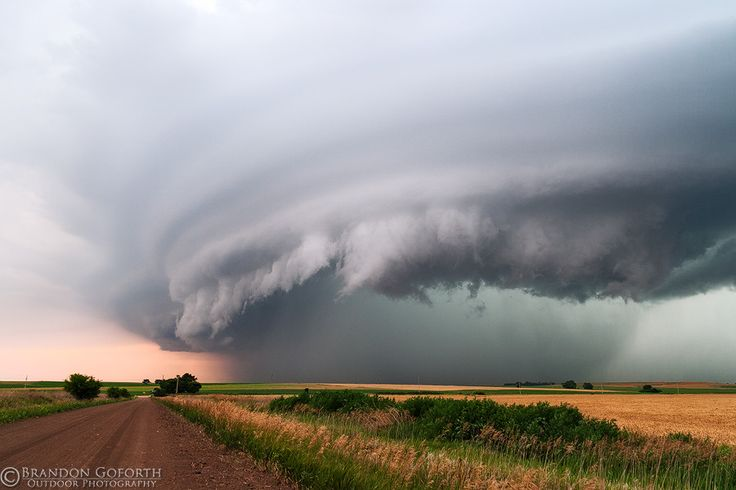 Kansas Storm Structure by Brandon Goforth, via 500px