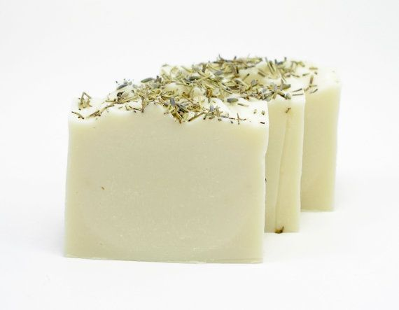 Lavender and Rosemary Soap All Natural Soap by TheSavvySoap