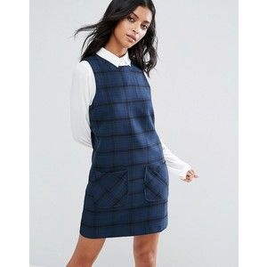 Pepe Jeans Lisa Checked Tunic Dress