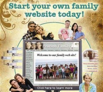 19 best Create a reunion website images on Pinterest