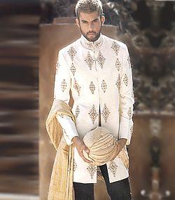 M286 Sherwani for Wedding Men's Sherwani Wedding Sherwani Groom's Sherwani Sherwani $350 to $449