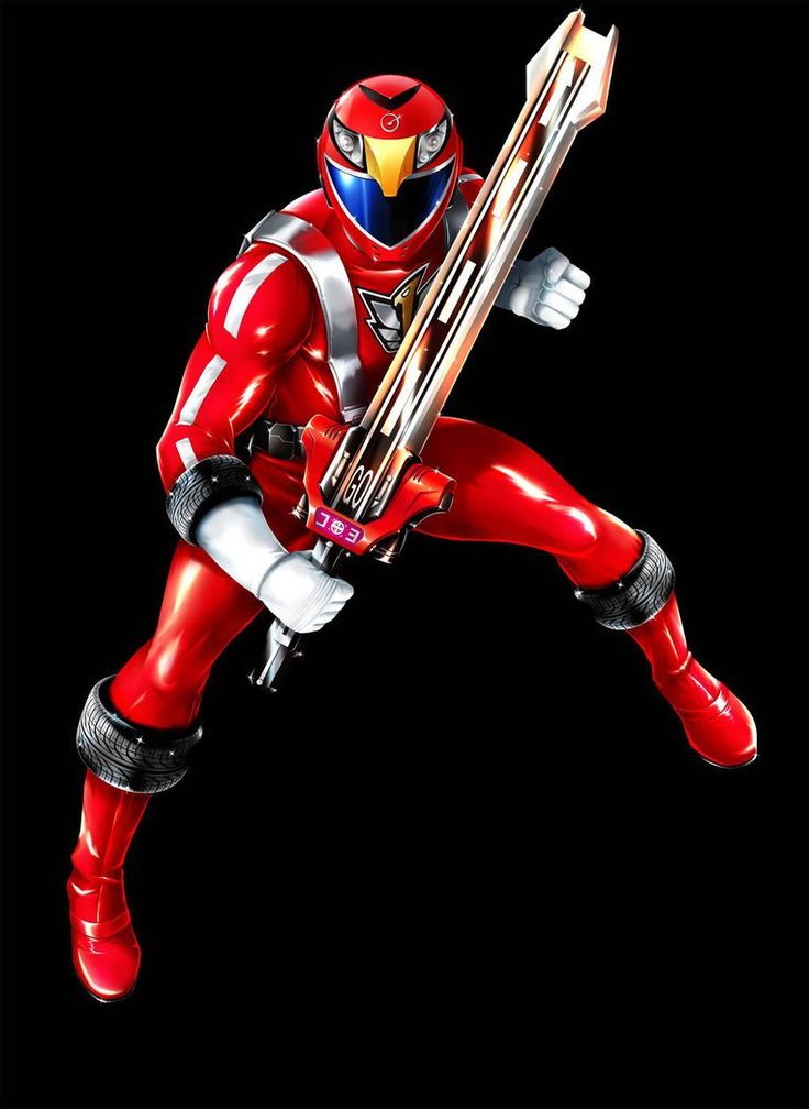 POWER RANGERS RPM - RED RANGER by DXPRO