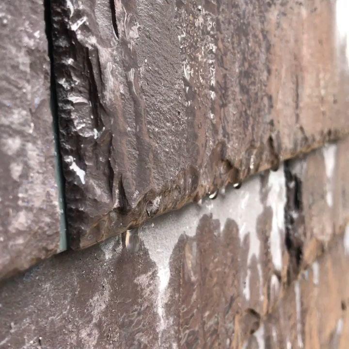 """Сланец #WelshSlate Penrhyn фасад выполнен в стиле Динамичная кладка / #Roofing #Slate wall cladding """"Dynamic style"""""""