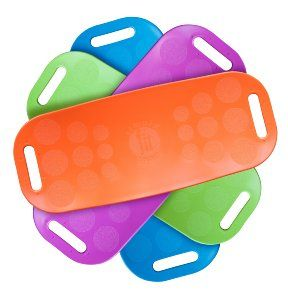 Amazon.com : Simply Fit Board 30044 Abs Legs Core Workout Balance Board (Orange) : Sports & Outdoors